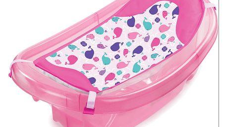 SUMMER INFANT Koupací vanička Sparkle ´n Splash růžová