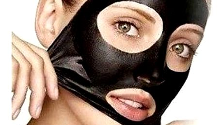 Černá slupovací maska na odstranění černých teček - 5 pytlíčků - dodání do 2 dnů