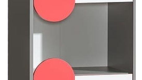 Dolmar Skříňka FUTURO F4 Barevné provedení: Grafit / zelená / bílá