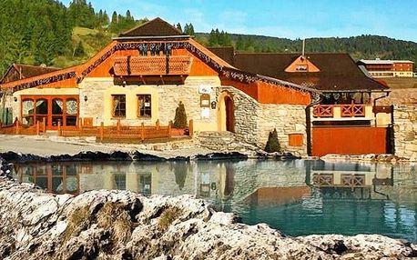 3–6denní pobyt pro 2 s dětmi zdarma v penzionech Kamenný dvor nebo Glinec na Slovensku