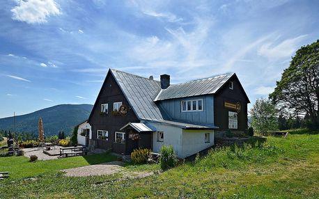 Báječná letní dovolená v Krkonošské horské bouda Míla pro dva v Peci pod Sněžkou-Velké Úpě s polopenzí, možností grilování a welcome drinkem v ceně