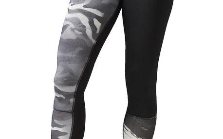 Dámské sportovní kalhoty Reebok Camo Compression Tight L