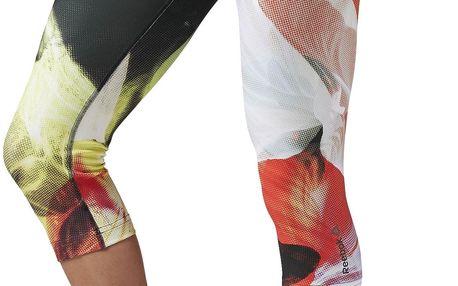 Dámské sportovní kalhoty Reebok Acid Fade Capri L