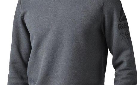 Pánská sportovní bunda Reebok Quik Cotton Crew Sweatshirt L