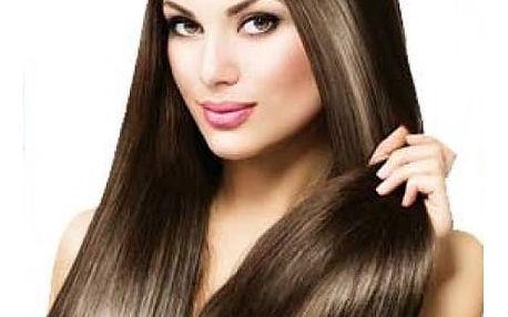 Vlasový příčesek v různých barvách s šestnácti klipy