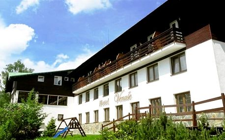 3 až 5denní pobyt s polopenzí v hotelu Venuše pro 2 ve Špindlerově Mlýně
