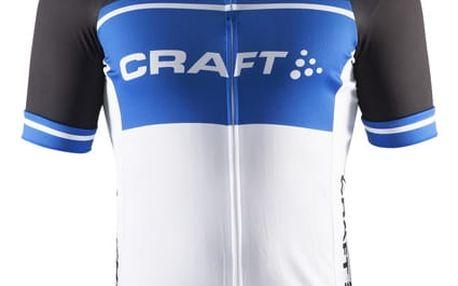 Craft Cyklodres Classic Logo černá s modrou L
