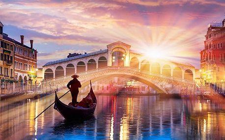 6denní zájezd pro 1 do Benátek, Verony, Lago di Garda, Florencie, Říma a Vatikánu