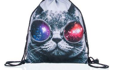 Fashion Icon Sportovní vak Cat kočka