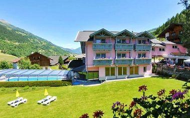 4 až 8denní wellness pobyt s polopenzí v hotelu Margarethenbad pro 2 v Alpách