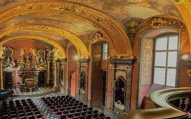 Populární melodie v Zrcadlové kapli Klementina