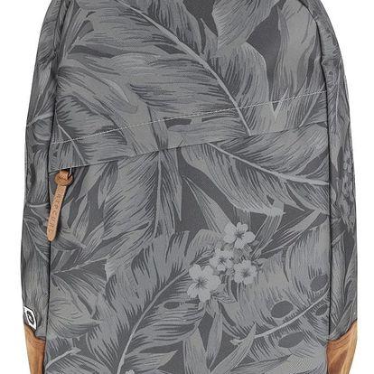 Zelený pánský batoh s detaily v semišové úpravě Rip Curl Palm Craft 22 l