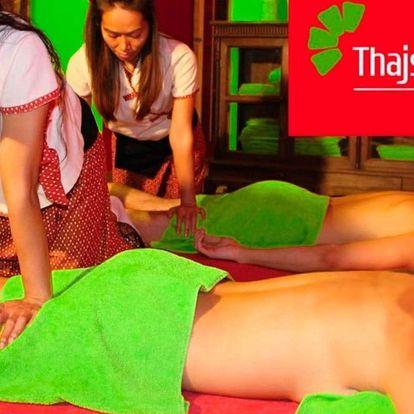 Párová relaxace v Thajském ráji: masáž, Garra Rufa a osvěžující nápoj