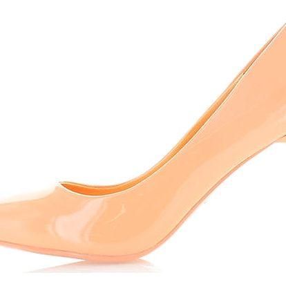 Oranžové lodičky Valeriana