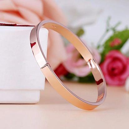 Luxusní dvoudílný náramek pro ženy