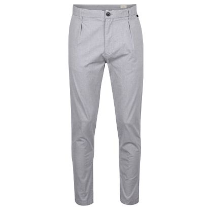 Šedé chino kalhoty Selected Homme Axel