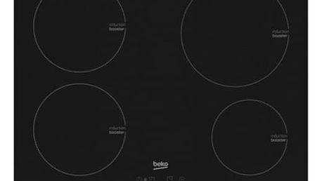 Indukční varná deska Beko HII 64405 AT černá