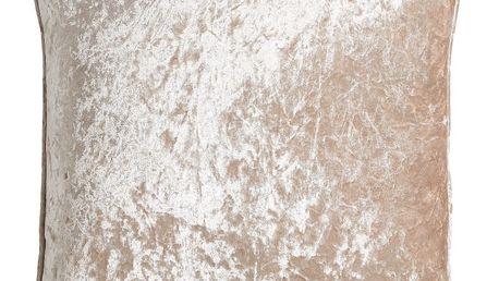 Béžový polštář Ixia Shinny