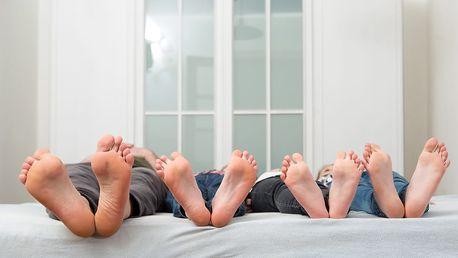 Personal Pedi: odstranění suché kůže na nohách s 1-2 hlavicemi