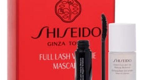 Shiseido Full Lash dárková kazeta pro ženy řasenka Full Lash Volume Mascara 8 ml + odličovač očí Instant Eye And Lip Makeup Remover 30 ml