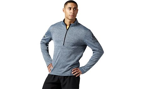 Reebok One Series Running LS 1/2 Zip L