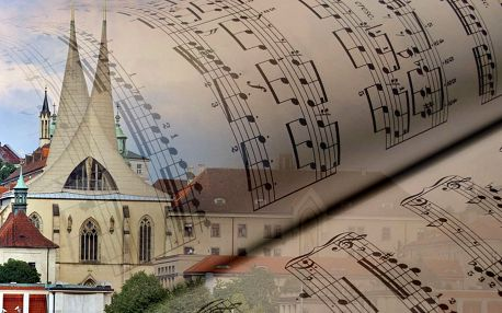 Koncert filmové a muzikálové hudby v reprezentativním prostředí barokního refektáře Emauzského kláštera