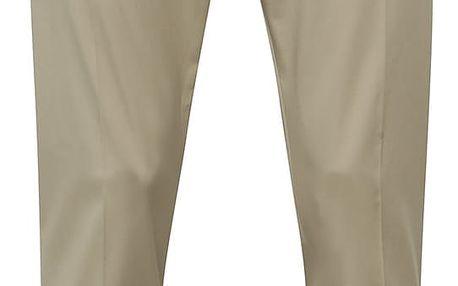 Béžové oblekové kalhoty Selected Homme Abone-Cotton