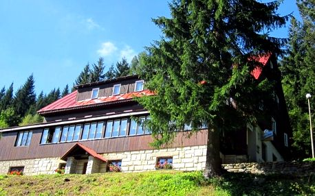 Dovolená v Krkonoších: Bohatá polopenze i bazén