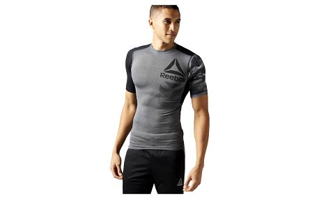 Pánské sportovní tričko Reebok Activchill SS Graphic Compression M