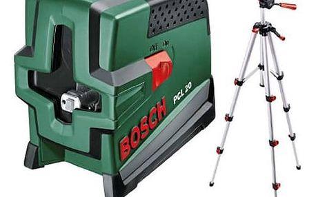 Křížový laser Bosch PCL 20 Set + Doprava zdarma