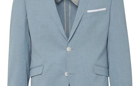 Světle modré oblekové sako Selected Homme Done-Summer