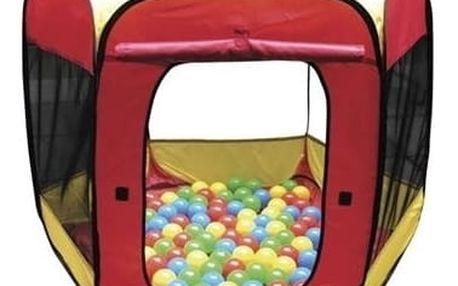 Paradiso Dětský stan Paradiso Toys + 100 ks balónků - 11640094