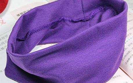 Fitness čelenka pro dámy - více barev
