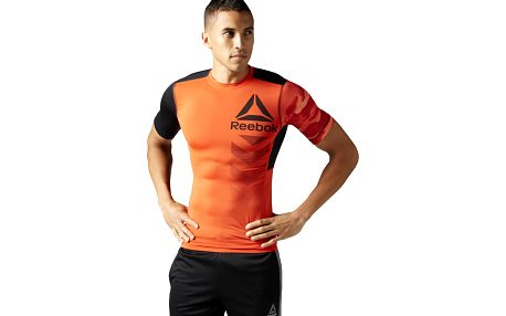 Pánské sportovní tričko Reebok Activchill SS Graphic Compression S