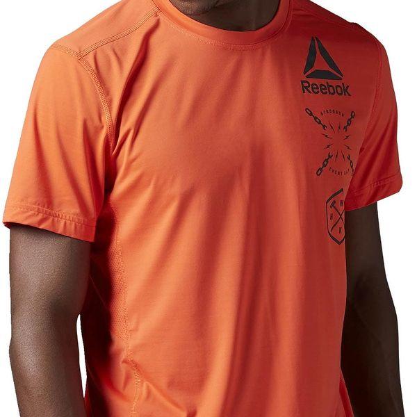 Pánské sportovní tričko Reebok Activchill Graphic Top L