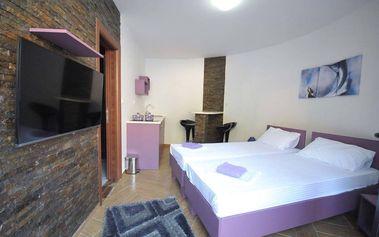 Černá Hora na 8 dní pro 1 osobu v luxusním apartmánu u moře
