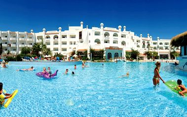 Hotel Hammamet Garden Resort & Spa, Tunisko, Tunisko pevnina, 6 dní, Letecky, All inclusive, Alespoň 4 ★★★★, sleva 24 %, bonus (Levné parkování u letiště: 8 dní 499,- | 12 dní 749,- | 16 dní 899,- )