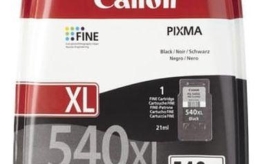 Inkoustová náplň Canon PG-540 XL, 600 stran - originální (5222B005) černý
