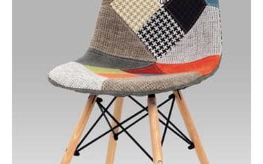 Jídelní židle patchwork / natural
