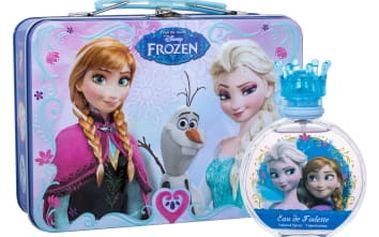 Disney Frozen dárková kazeta toaletní voda 100 ml + plechová krabička
