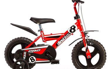 Dětské kolo ACRA Dino 123GLN červená 12'' 2014