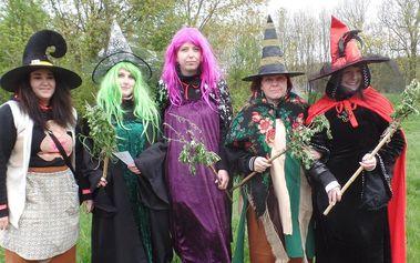 Stezka odvahy za čarodějnicemi do Divoké Šárky