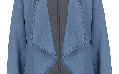 Světle modré krátké džínové sako VERO MODA Emilia
