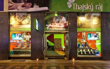 30min. thajská masáž + 10 min. Garra Rufa v Thajském ráji