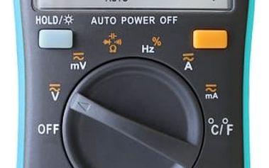 Profesionální digitální multimetr s příslušenstvím - AN8002