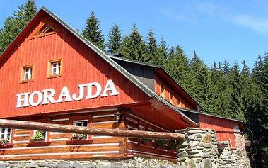 3denní pobyt se snídaněmi v penzionu Horajda pro 2 v Krkonoších