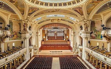Vstupenka na koncert ve Smetanově síni, Mozart & Vivaldi v podání Dvořák Symphony Orchestra Prague.