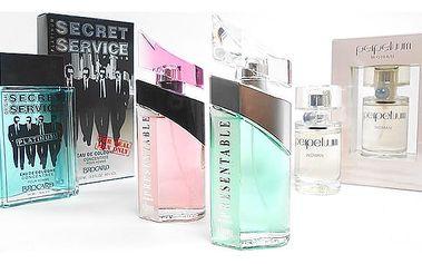 Parfémy Perpetuum, Presentable a Secret Service pro muže i ženy