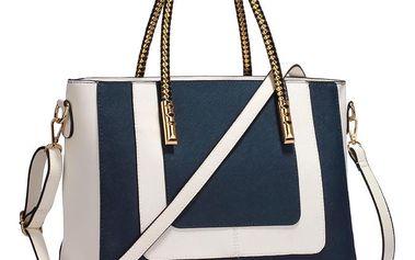 Tmavě modrá kabelka L&S Bags Legendre