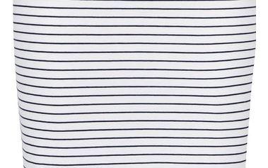 Černo-bílá pruhovaná sukně VERO MODA Ebru